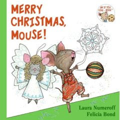 Merry Christmas Mouse Board Book