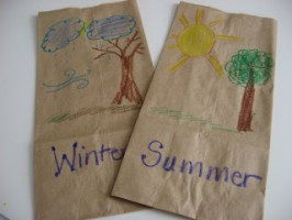 All about Seasons! Sorting Activity for Preschoolers