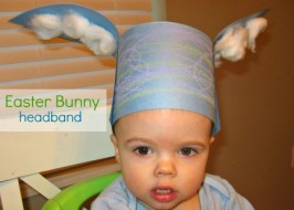 Bunny Ears Craft for Easter