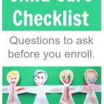Before you enroll {questions to ask child care providers}