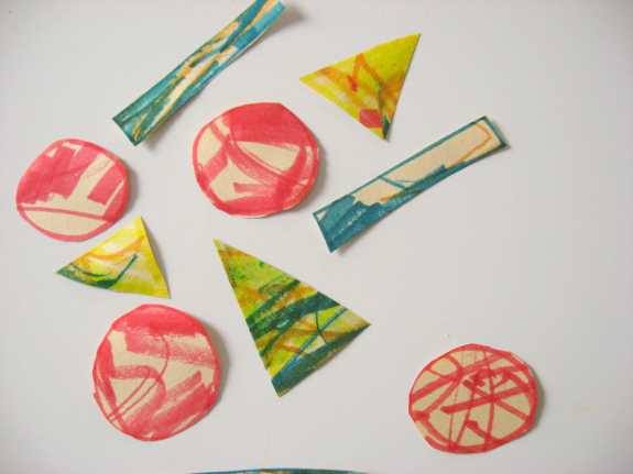 pizza shapes craft