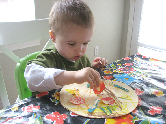shape pizza craft for shape recognition