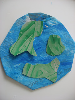 Our World Earth Day Craft