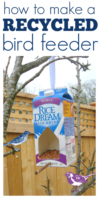 how to make a bird feeder