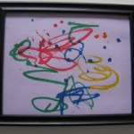 Parent's Corner : Displaying Kiddie Art