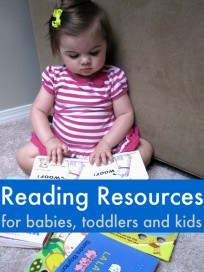 Reading Resources for babies toddlers and kids