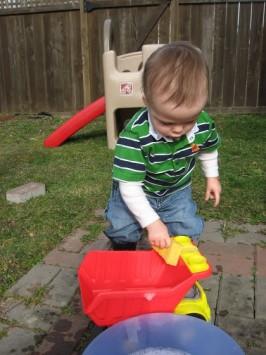 Backyard Car Wash  !