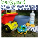 Backyard Car Wash  !