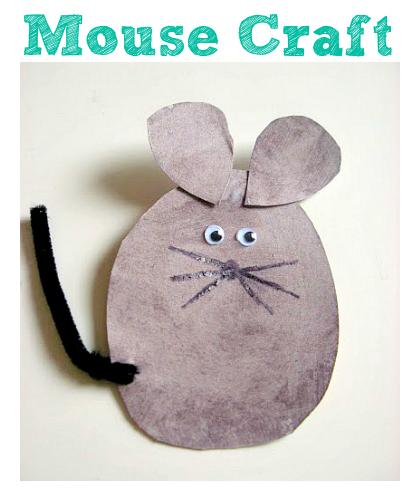 preschool mouse craft