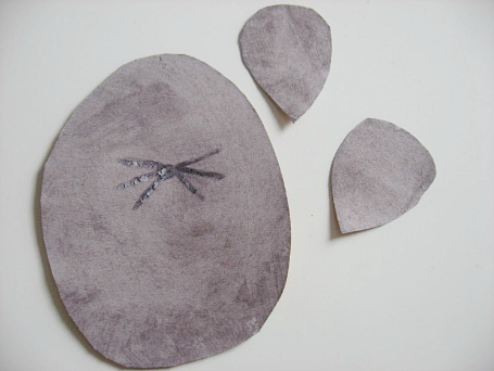 mouse craft pieces