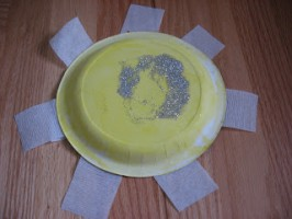 It might be yucky outside but we can make our own Sunshine!