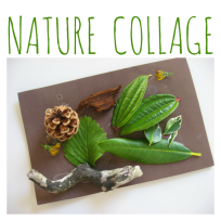 TODDLER NATURE COLLAGE