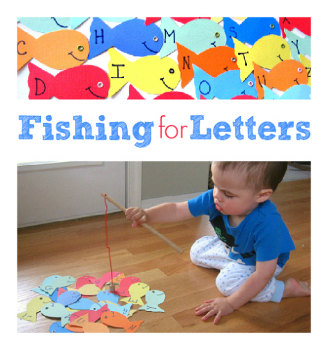 Fishing For Letters Game No Time For Flash Cards