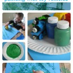 Painting With Toy Vehicles
