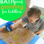Bath Pouf Painting