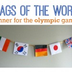 World Flags Banner for The Olympics