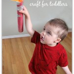 Olympic Torch Craft For Kids and Toddlers