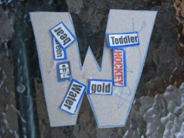Letter of the Week ! W w !