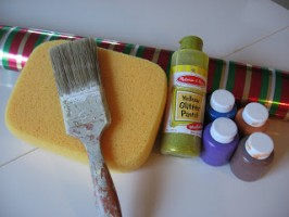 Big Sponge Painting