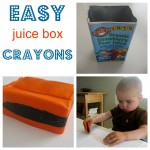 How To Make Juice Box Crayons