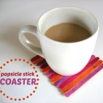 Popsicle Stick Crafts : Coasters