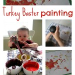 Turkey Baster Painting