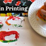 Pumpkin Prints for Toddlers & Preschoolers