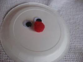 Paper Plate Santa Craft For Kids