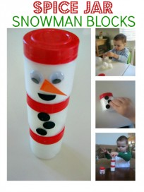 SPICE JAR SNOWMAN BLOCKS