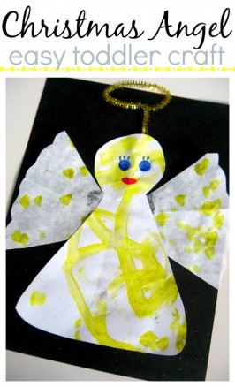 Coffee Filter Angel Craft For Kids