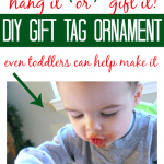 Gift Tag Ornaments – Christmas Crafts For Kids