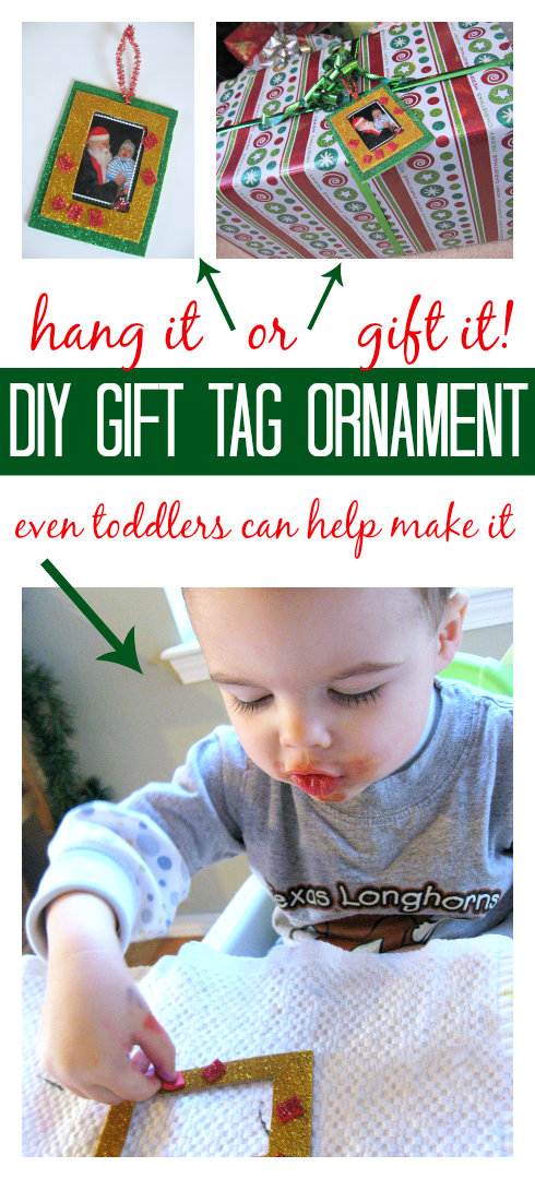 gift tage ornament for kids