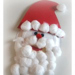 Paper Plate Santa Craft For Kids