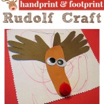 Rudolf Craft For Toddlers { and older kids too }