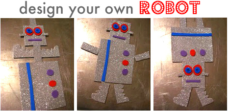 robot kids craft