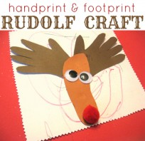 rudolf craft for toddlers
