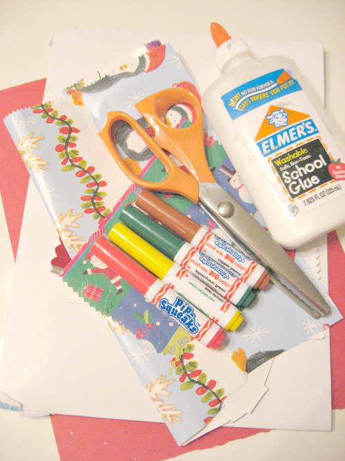 easy christmas craft for toddlers