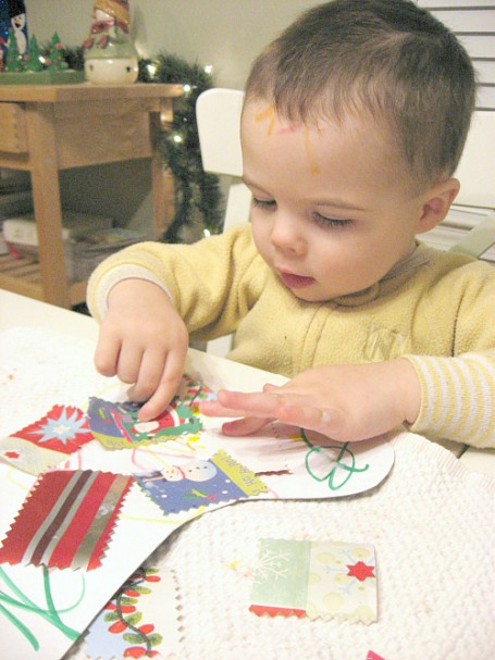 Stocking craft for little kids no time for flash cards for Stocking crafts for toddlers