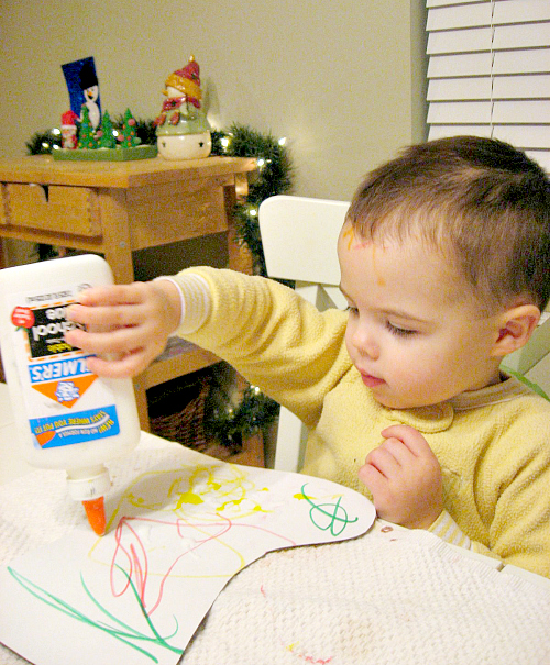 stocking craft for toddlers