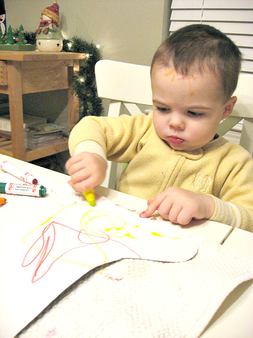 stocking craft for toddlers christmas