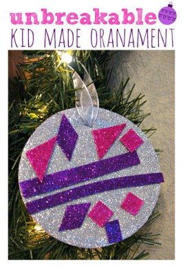 Easy Unbreakable Ornament Craft For Kids