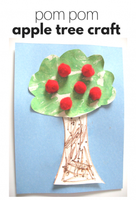 An Apple A Day… Apple Tree Craft