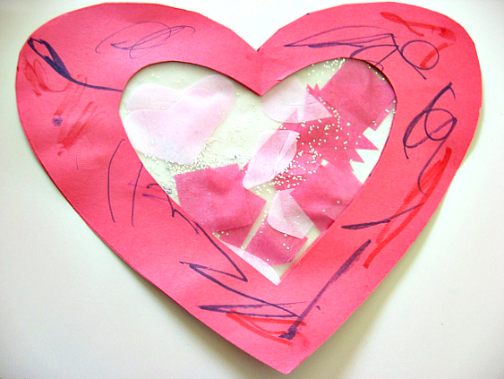 toddler valentine's day craft