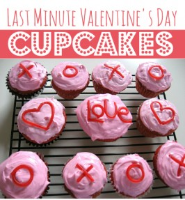 XOXO Cupcakes for Valentine's Day