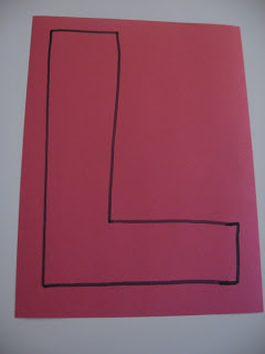Letter of The Week L l !