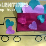 Valentine's Day Truck Craft