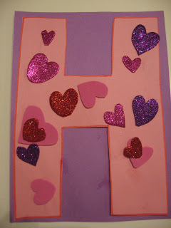 Letter Of The Week – Valentine's Letter Activity