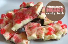 Cinnamon Heart Bark – Valentine's Day Treat