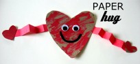 paper hug craft