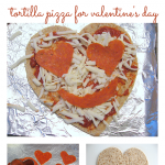 Heart Shaped Pizza !
